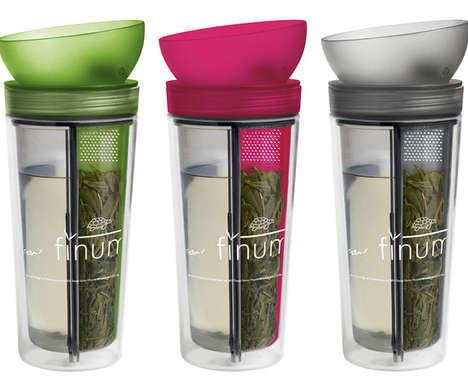 Built-In Infuser Mugs