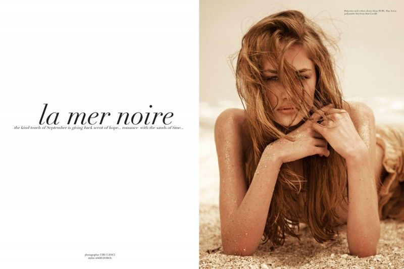 Sultry Sandy Editorials