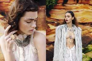'Earth and Sea' by Aimee Stoddart Brings Tribal Fashion to t