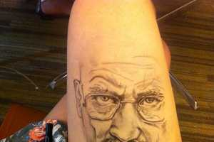 The Thigh Doodles by Jody Steel are a Work of Art