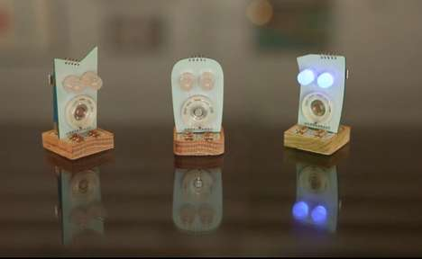 Mini Robot Human Toys - The Aesthetec Studio Mini Robots Grow and Develop with Your Children