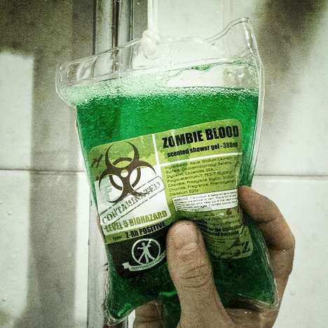 Zombie Blood Shower Gel - This Zombie Soap From Forbidden Planet is Apocalyptically Awesome
