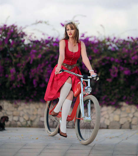 Fashionable Chic Vintage Bikes - The Ladies