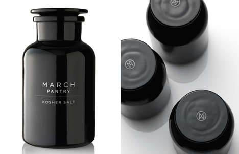Elegant Minimalism Branding - This March Pantry Packaging Boasts Clean Design Details