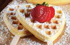 Heart-Shaped Waffle Makers - The Babycakes Waffle Maker is Perfect for Romantic Weekend Breakfasts