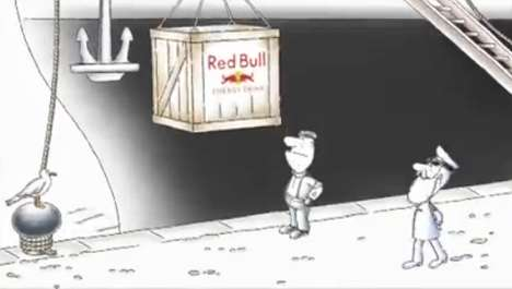 titatic ad red bull