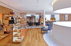 Luminous Halo Boutiques - The Hermes Beverly Hills Boutique on Rodeo Drive is Radiant