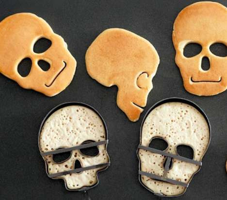 Creepy Breakfast Molds - The Skull Pancake Mold Makes Spooky Breakfasts