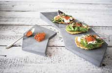 Minimalistic Concrete Tableware