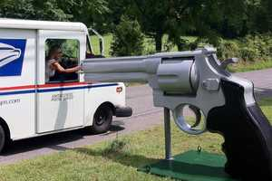 The Massive .44 Magnum Letterbox Barrel Weighs 1,500 pounds