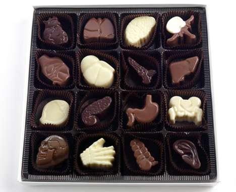 Deliciously Creepy Chocolates
