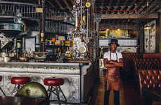 Steampunk Contraption Cafes - Have a Cup of Java at the Cape Town Coffee Shop Called 'Truth'