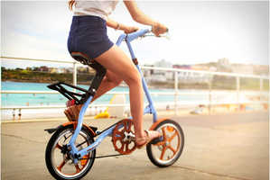 The Strida Foldable Bike is Portable and Wholly Productive
