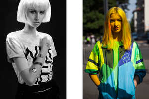 Sekulovski Captured Retro Urban Looks in the 'Gummy Duo' Shoot