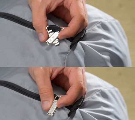 Handy Zipper Repair Kits - Quickly Fix Broken Zips with This ZipperMend Device