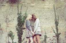 Old-Fashioned Twin Photography - Alexandra Cameron Captures Twin Seduction in 'Virgin Suicides'