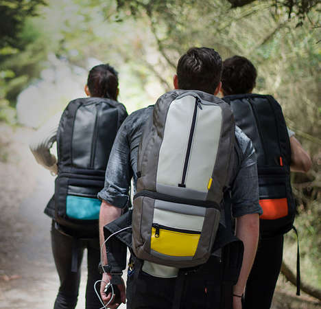 Battery-Charging Bags - The SOOT Electropack Can Charge Electronics for up to Two Weeks