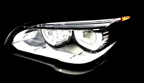 Traffic-Detecting Headlights - BMW's Adaptive Headlights Ensure a Safe and Efficient Drive Hom