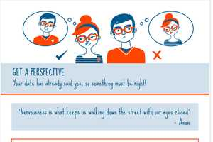 Dispel First Date Jitters with the Psychology of Dating Nerves Infographic