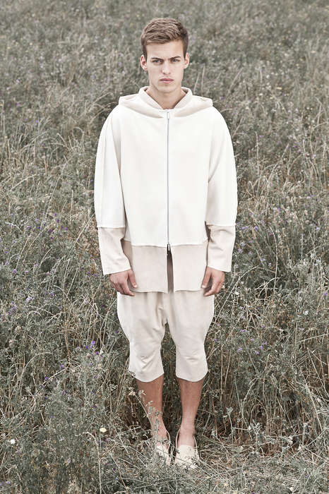 Utilitarian Grassland Catalogs - The Etxeberria Spring/Summer 2014 Lookbook is Minimalist