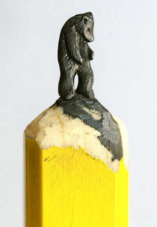 Miniature Pencil Carvings - Diem Chau