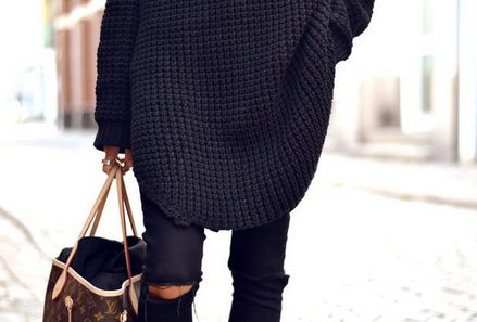 Overized Autumn Knitwear