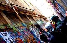 Underground Street Artist Photography