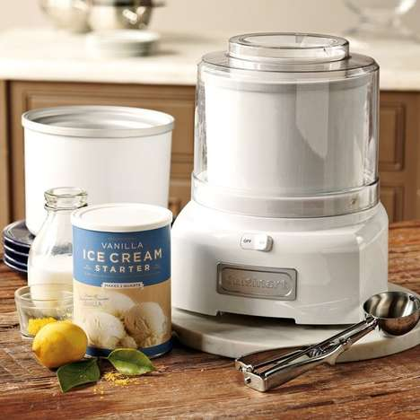 DIY Classic Dessert Machines - The Cuisinart Ice Cream Maker Makes Your Favorite Frozen Treats