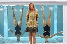 Synchronized Swimwear Stunts - This Stella McCartney for Adidas Put Sportswear to the Test