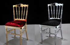 Brycla Gold-Plated and Platinum Chairs are Made for Royalty