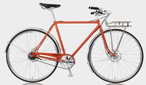 Tour De France-Inspired Cycles - Shinola's New Bicycles are French-Inspired