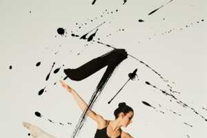 The Combination of Calligraphy and Ballet Makes for a Lively Photo Series