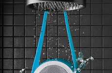 Water-Resistant Shower Speakers - This Shower Speaker Allows You to Play Music Where You Please