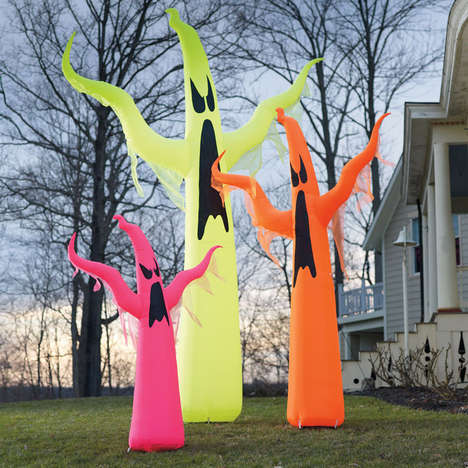 Giant Inflatable Ghosts