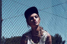 Sensual Sporty Editorials - Ricardo Santos Captures Hot Tennis Fashion in the 'Golden Gamester'