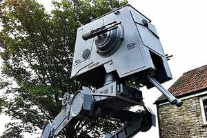 This Star Wars AT-ST Walker is a Whopping 16 Feet Tall