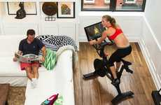 Interactive In-Home Bikes