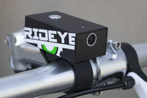 The Rideye Starts Recording to Protect Against Hit-and-Runs