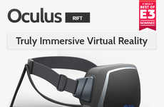 Virtual Reality Helmets - The Oculus Rift is a Fully Immersive Virtual Reality Headset