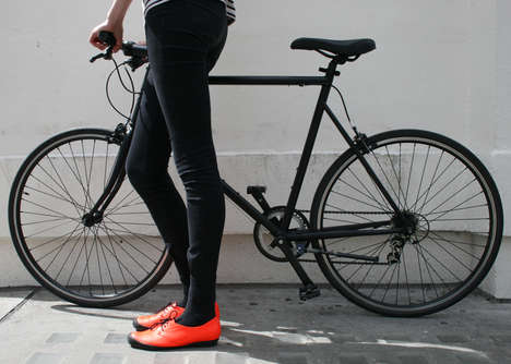 Stylish Cyclist Shoes - Tracey Neuls and Tokyobike Create Footwear That is Safe and Fashionable