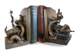 The Kraken Bookend is Perfect for Fans of Captain Jack Sparrow