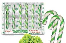 Mischeivous Prank Candy Canes - Prank Your Friends with these Gravy & Wasabi Flavored Candy Canes