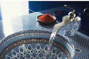 The Marrakesh Sink by Kohler Marries Ethnic Art with Contemporary Design