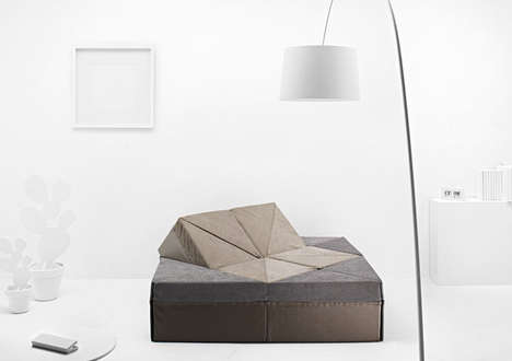 Shape-Shifting Sofa Designs - The Cubel Mini Can Turn From a Chair to a Bed in a Few Flips