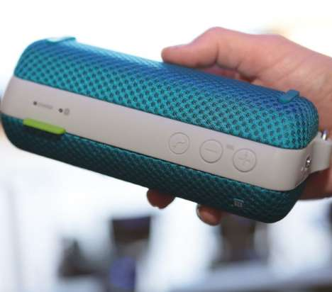 Waterproof Music-Playing Devices - Enjoy Your Music Everywhere with This Waterproof Speaker
