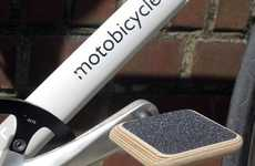 Flat Cycling Pedals - MOTO's Bicycle Pedals Appeal to the Urban Cyclist