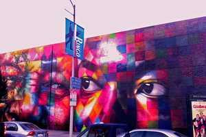 Eduardo Kobra's Large Scale Mural Covers 4,300 Square Feet