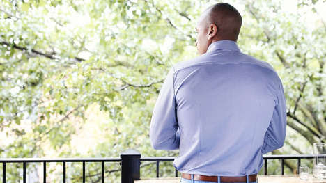 Athlete-Inspired Dress Shirts - Mizzen+Main by Kevin Lavelle Guards Against Pit Stains and Wrinkles