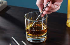 Stainless Steel Drink Coolers - Stircicles are Freezable Stir Sticks That Will Keep Your Drink Cool