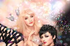 Festive Anime-Inspired Makeup - Takashi Murakami & Shu Uemura Debut Their Holiday Makeup Line